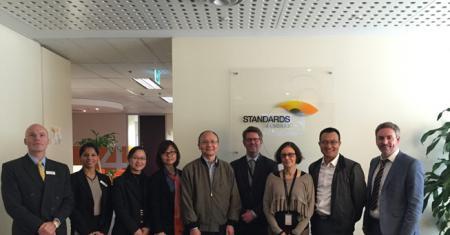 中国稀土标准专家组出访澳、马两国