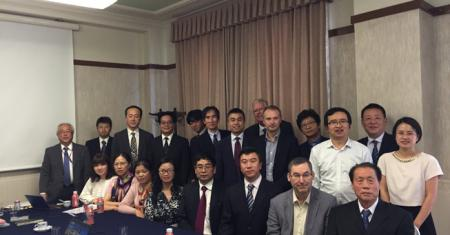中国代表团出访日本镁协ISO/TC79/SC5年会胜利召开